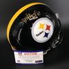 HOF - Steelers Mel Blount Signed Proline Helmet