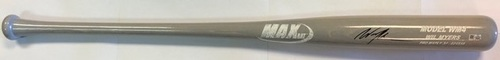 Photo of Wil Myers Autographed Game Model Max Bat