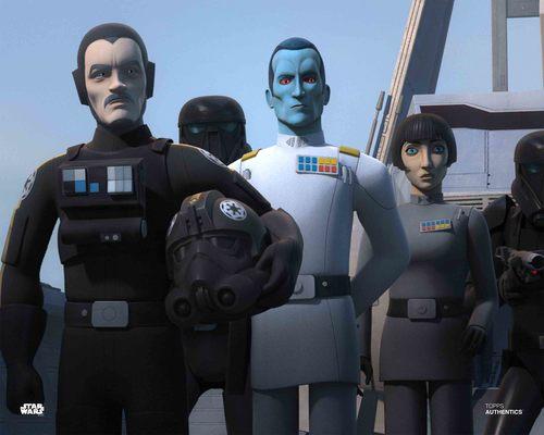 Grand Admiral Thrawn, Arihnda Pryce and Vult Skerris
