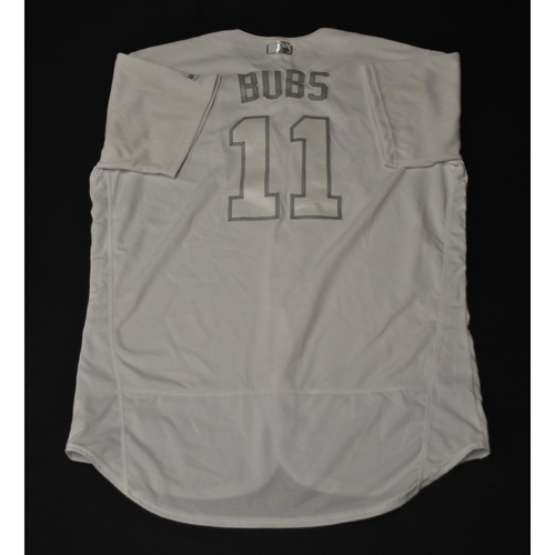 "Photo of Bubba ""Bubs"" Starling Kansas City Royals Game-Used 2019 Players' Weekend Jersey"