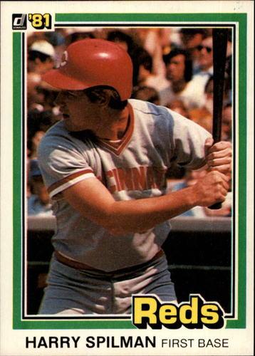 Photo of 1981 Donruss #304 Harry Spilman