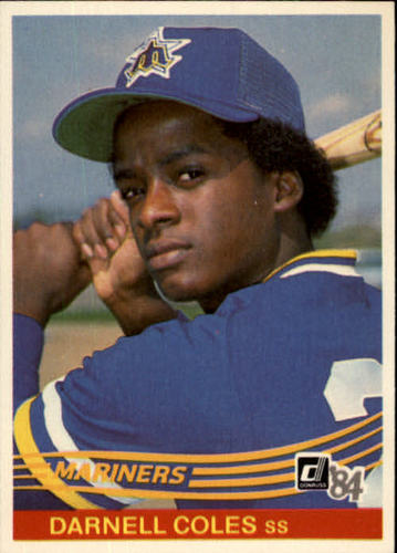 Photo of 1984 Donruss #630 Darnell Coles RC