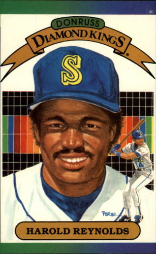 Photo of 1989 Donruss #21 Harold Reynolds DK