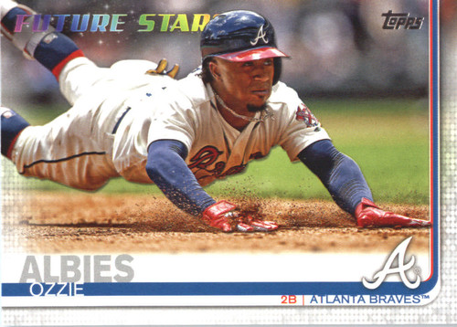 Photo of 2019 Topps #561 Ozzie Albies FS