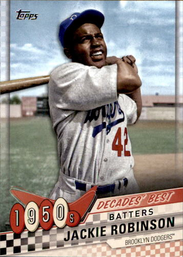 Photo of 2020 Topps Decades' Best #DB16 Jackie Robinson