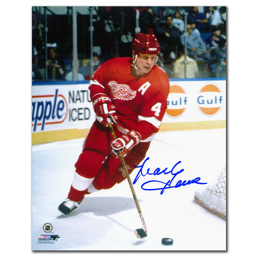 Mark Howe Detroit Red Wings Autographed 8x10