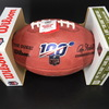 NFL - Ravens Calais Campbell Signed Authentic Football with 100 Seasons Logo