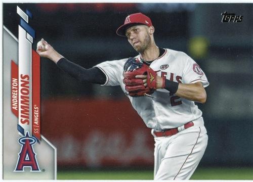 Photo of 2020 Topps #423 Andrelton Simmons