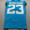 Crucial Catch - Jaguars CJ Henderson Game Used Jersey (10/18/20) Size 40
