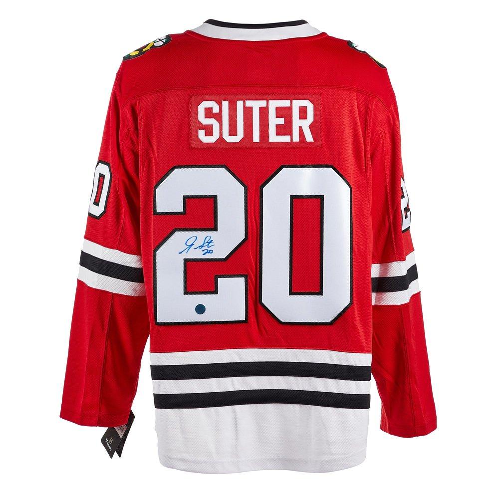 Gary Suter Chicago Blackhawks Autographed Fanatics Jersey