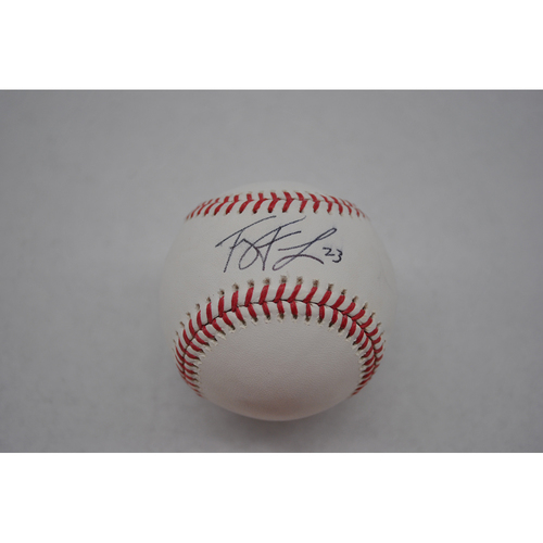 Autographed Lou Gehrig Day Baseball - Ty France