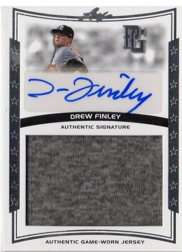Photo of 2014 Leaf Perfect Game Showcase Jersey Autographs #JADF1 Drew Finley