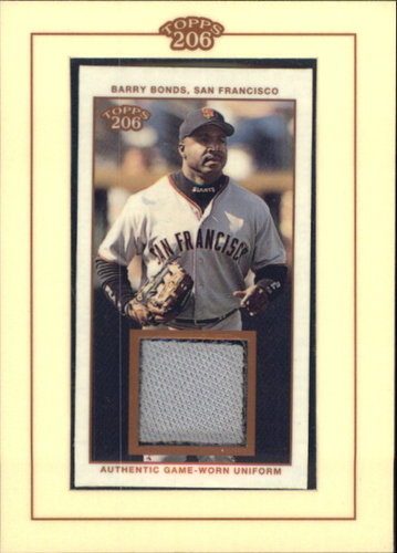 Photo of 2002 Topps 206 Relics #BB1 Barry Bonds Jsy A1