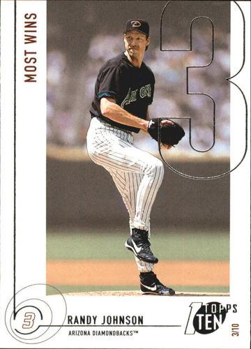 Photo of 2002 Topps Ten #133 Randy Johnson WINS