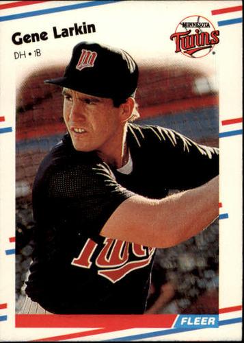 Photo of 1988 Fleer #14 Gene Larkin RC