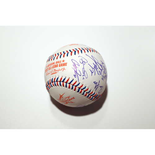 Compton Youth Academy Auction: 2017 ASG Baseball Signed by the American League All-Stars - Not Authenticated by MLB