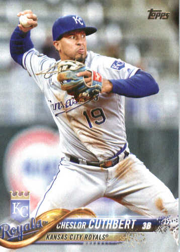 Photo of 2018 Topps #72 Cheslor Cuthbert