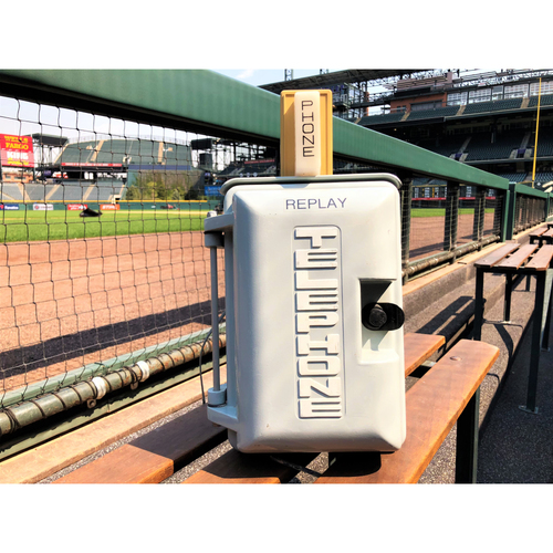 Photo of Colorado Rockies Team-Issued Home Replay Phone