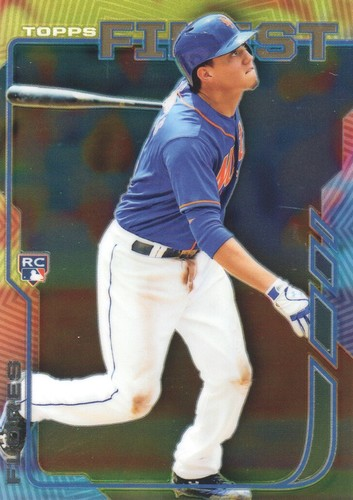 Photo of 2014 Finest #98 Wilmer Flores  Rookie Card