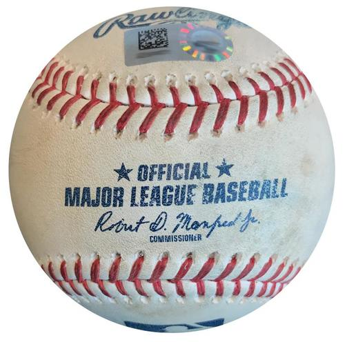 Photo of Game-Used Baseball from Pirates vs. Cardinals on 8/3/18 - Chris Archer Strikeout Pitch