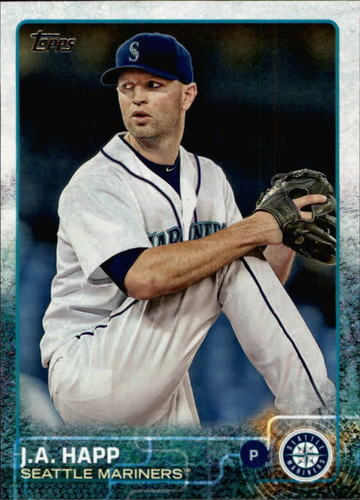 Photo of 2015 Topps #414 J.A. Happ