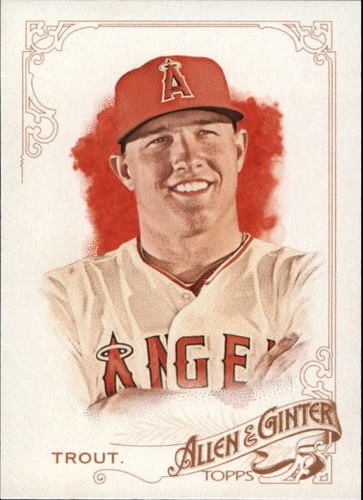 Photo of 2015 Topps Allen and Ginter #252 Mike Trout