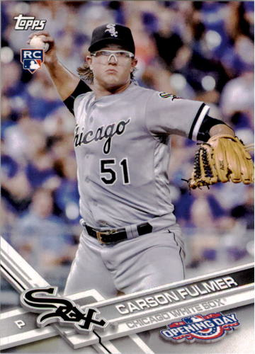 Photo of 2017 Topps Opening Day #121 Carson Fulmer Rookie Card
