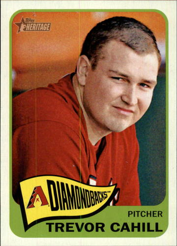 Photo of 2014 Topps Heritage #379 Trevor Cahill