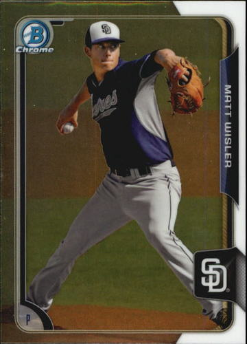 Photo of 2015 Bowman Chrome Prospects #BCP83 Matt Wisler