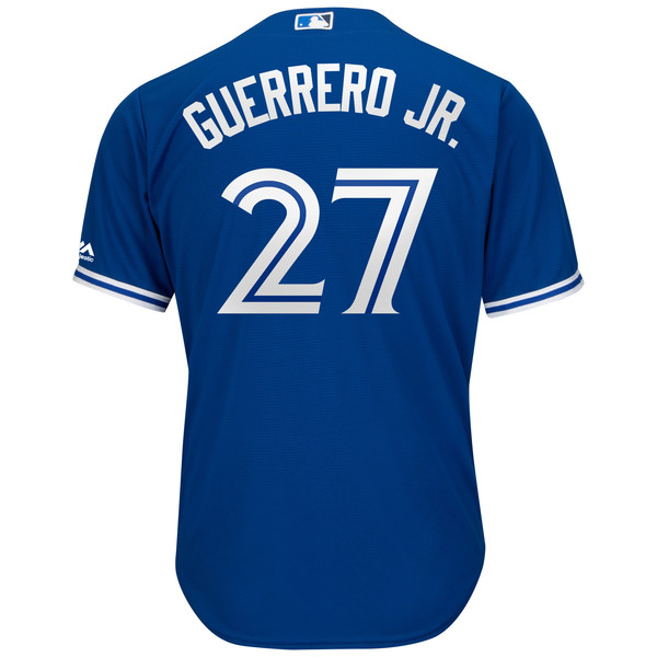 Toronto Blue Jays Cool Base Replica Vladimir Guerrero Jr. Alternate Jersey by Majestic