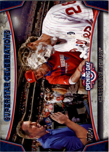 Photo of 2015 Topps Opening Day Superstar Celebrations #SC10 Chase Utley