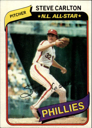 Photo of 1980 Topps #210 Steve Carlton