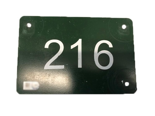 Photo of 12 Days of Auctions: Day 11 -- Wrigley Field Collection -- Aisle Marker 216
