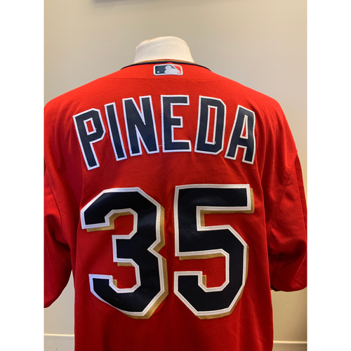 Photo of Minnesota Twins - 2019 Game-Used Spring Training Jersey - Michael Pineda