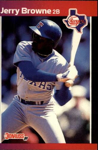 Photo of 1989 Donruss #529 Jerry Browne DP