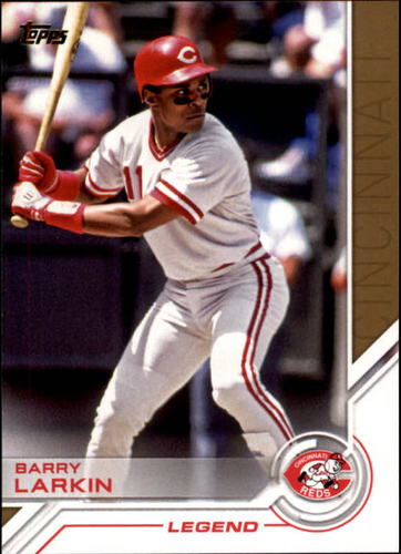 Photo of 2017 Topps Salute #S100 Barry Larkin