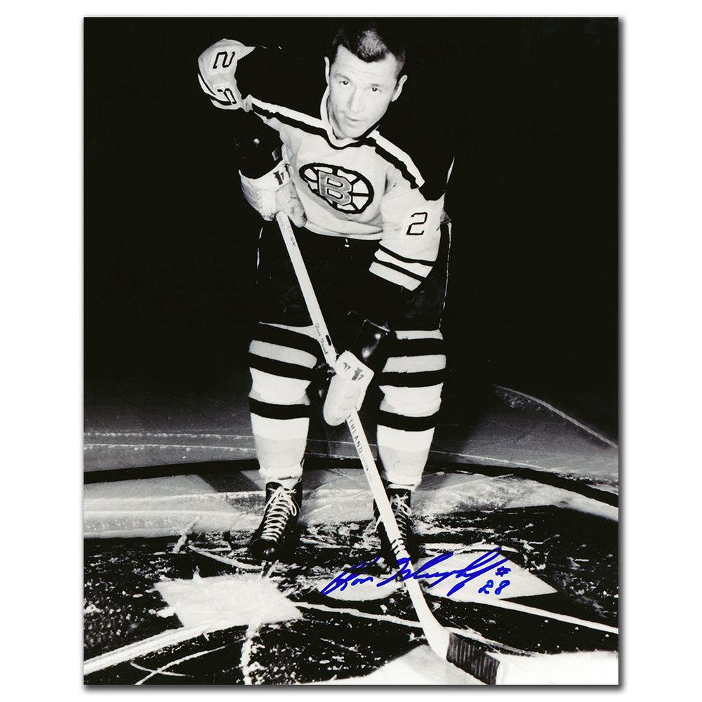 Ron Murphy Boston Bruins Autographed 8x10 Photo