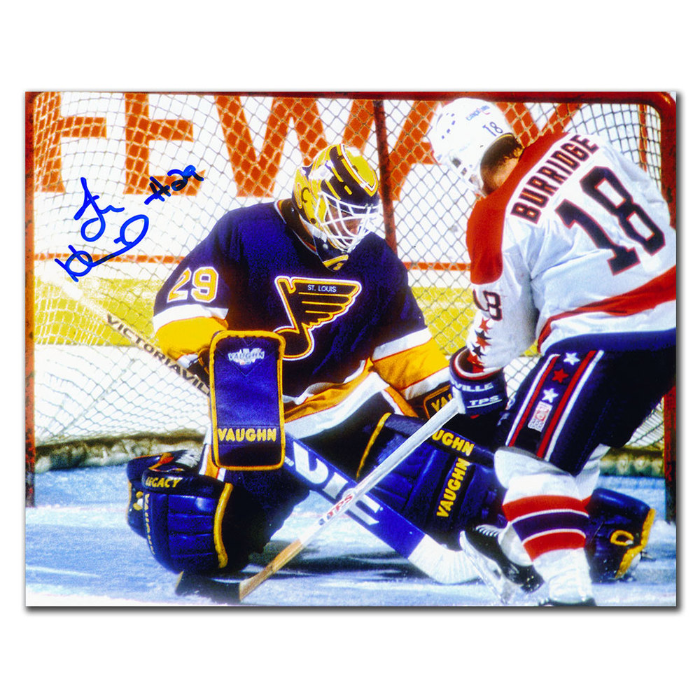 Jim Hrivnak St. Louis Blues Autographed 8x10
