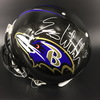 NFL - Ravens Eric Weddle Signed Proline Helmet