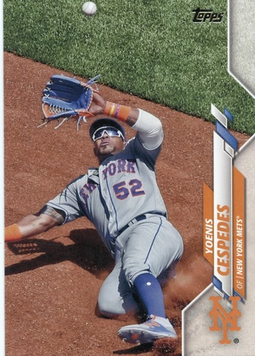 Photo of 2020 Topps #426 Yoenis Cespedes