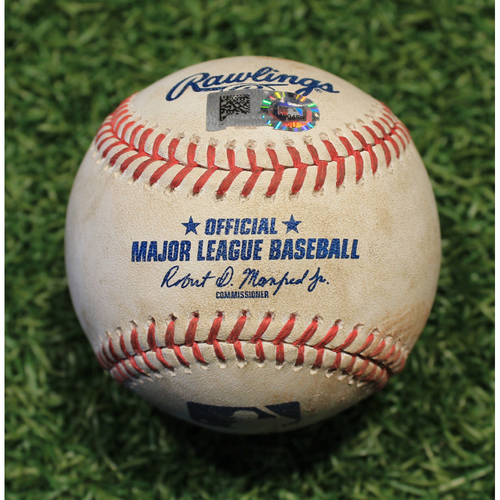 Photo of Game-Used Baseball: Leury Garcia 379th Career Hit (CWS @ KC 8/1/20)