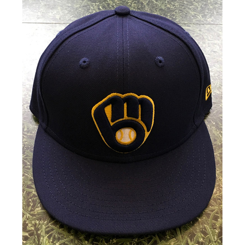 Photo of #22 2020 Team-Issued Milwaukee Brewers Cap