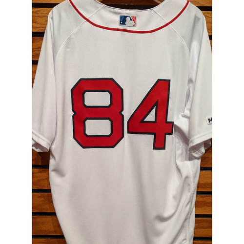 Photo of Coach Ramon Vazquez #84 Team Issued Home White Jersey