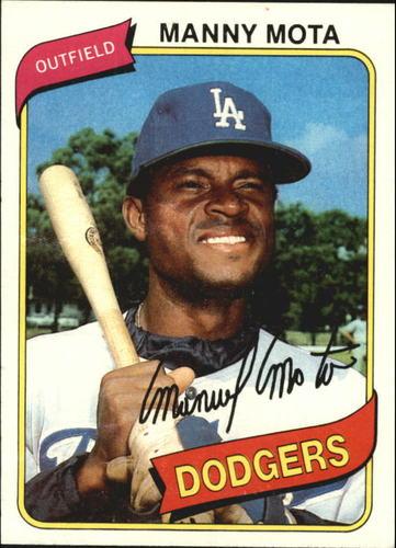 Photo of 1980 Topps #104 Manny Mota