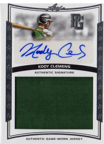 Photo of 2014 Leaf Perfect Game Showcase Jersey Autographs #JAKC1 Kody Clemens
