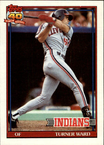Photo of 1991 Topps #555 Turner Ward RC