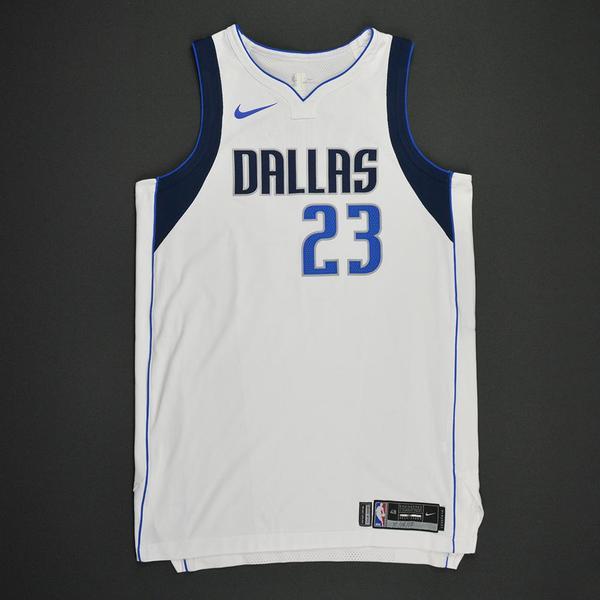 4fcf87f09d07 Wesley Matthews - Dallas Mavericks - Kia NBA Tip-Off 2017 - Game-Worn Jersey