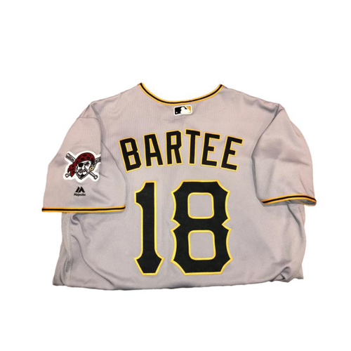 Photo of Kimera Bartee Game-Used Road Gray Jersey