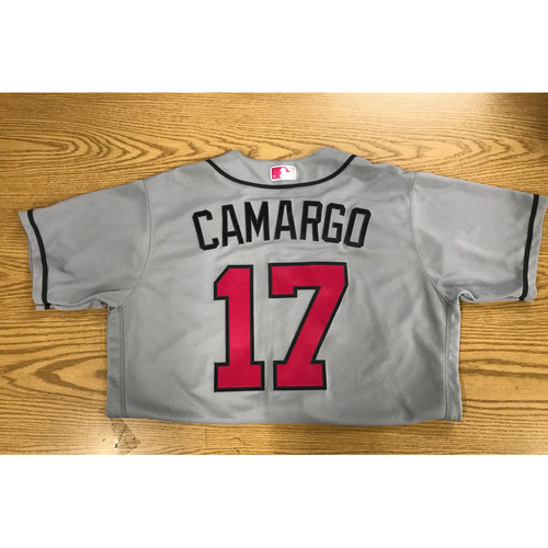 Photo of Johan Camargo Team-Issued Jersey