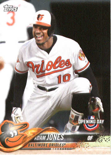 Photo of 2018 Topps Opening Day #15 Adam Jones